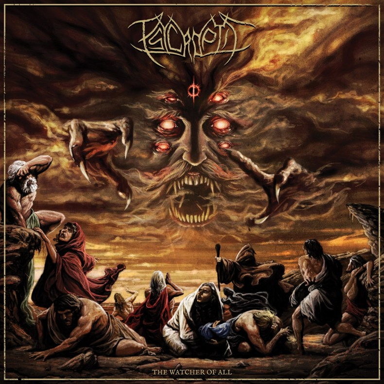 """The Watcher of All Psycroptic - REVIEW: PSYCROPTIC - """"The Watcher Of All"""" [EP]"""