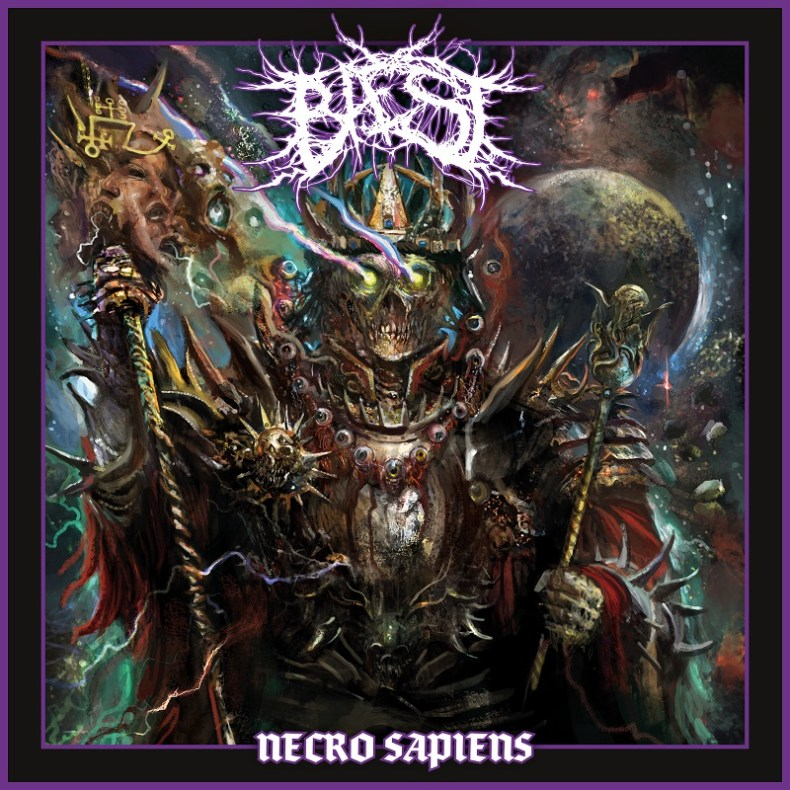 "REVIEW: BAEST - ""Necro Sapiens"" » Metal Wani"