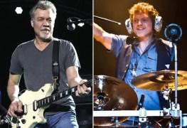Eddie Van Halen Rick Allen - DEF LEPPARD's Rick Allen Pays Tribute To EDDIE VAN HALEN By Painting His Portrait