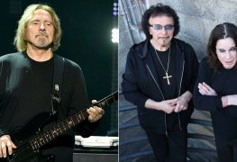 geezer butler tony iommi ozzy osbourne - Geezer Butler On How BLACK SABBATH Felt About Ozzy Outshining Them With Solo Career
