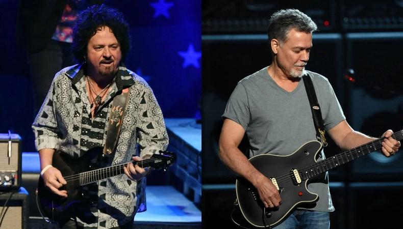 stevelukanther vanhalen - TOTO Guitarist Says Eddie Van Halen Hated the Fact He Started a Trend of Mindless Shredding
