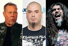 James Hetfield Phil Anselmo Tom Araya - Mother From New Zealand Named Her Children SLAYER, METALLICA & PANTERA