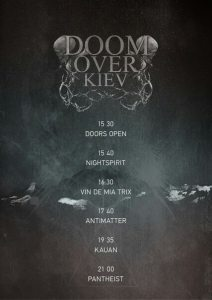 Doom Over Kyiv 2015 poster