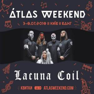 Lacuna Coil Atlas Weekend