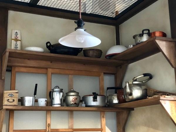 台所の一枚棚