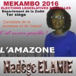 Déclaration de candidature Nadège ELANIE (vidèo)