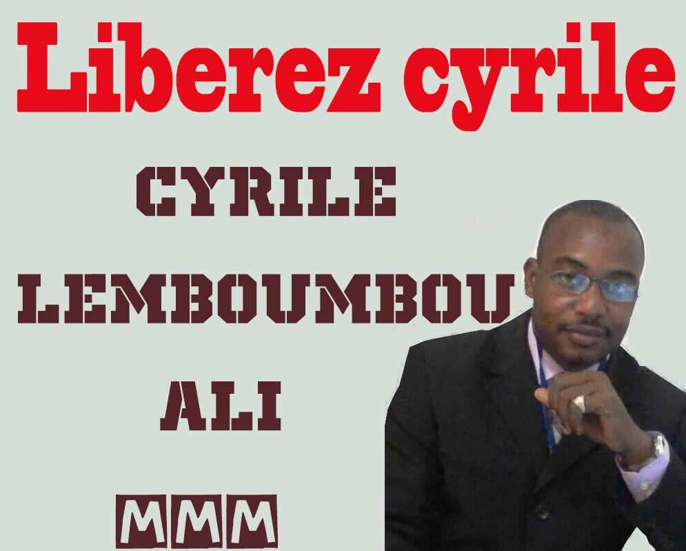 UPDATE sur la situation de Cyrile LEMBOUMBOU ALI