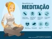 Os benefícios da meditação.
