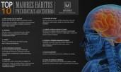 Os 10 maiores hábitos prejudiciais ao cérebro.