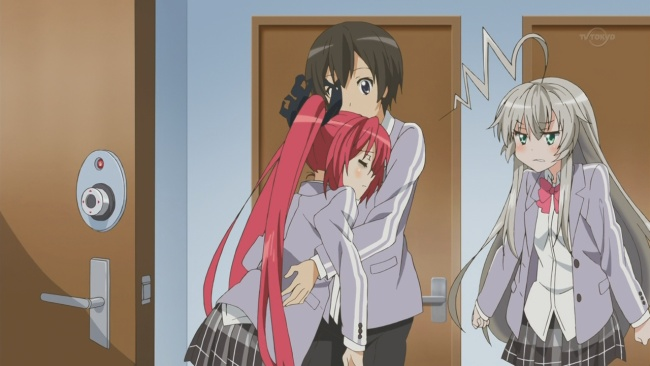Kuuko + Mahiro = Angry