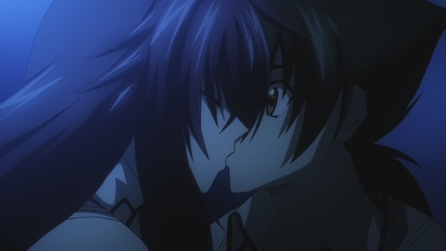 Rias Kisses Issei