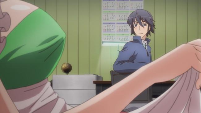 Noelle puts the moves on Takahiro