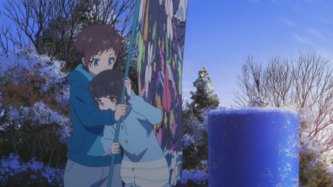Nagi no Asukara-Miuna gets close
