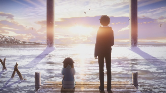 Nagi no Asukara-PA Works Skies