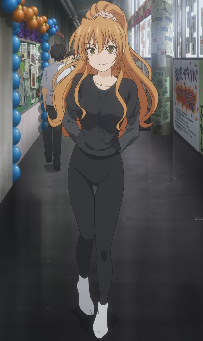 Golden Time - Kouko in Yoga Pants