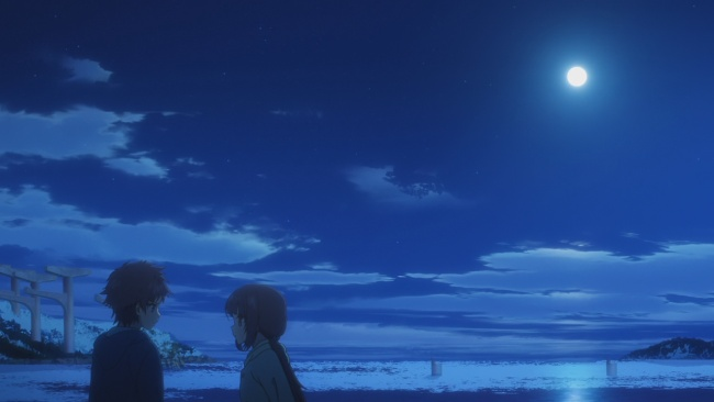 Nagi no Asukara-Miuna forces the truth