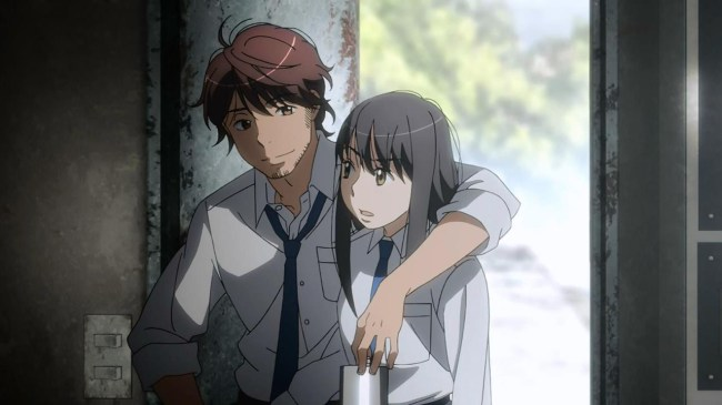 Aldnoah 01 - Marito & Yuki