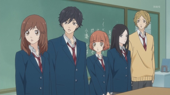 Ao Haru Ride-The Fab Five