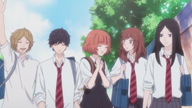 Ao Haru Ride-The whole group