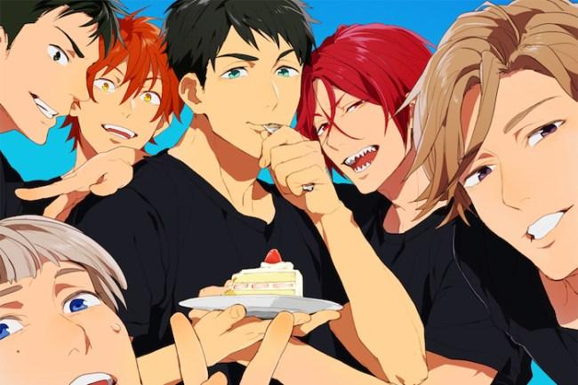 Free! eternal summer finale - samezuka