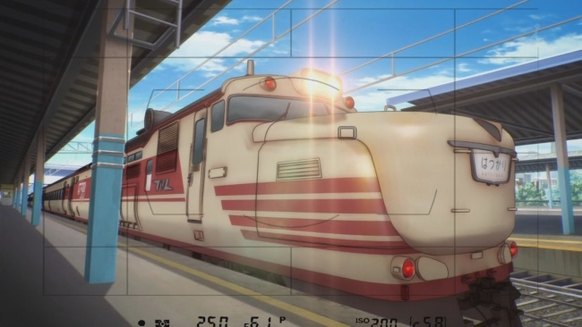 Rail Wars-Aoi would have more of a chance if she looked like this
