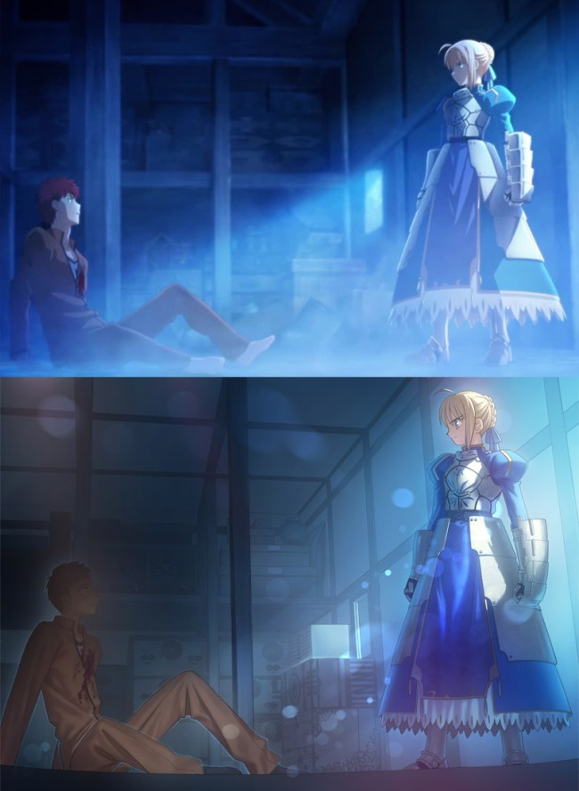Fate stay night Unlimited Blade Works 2-summoning