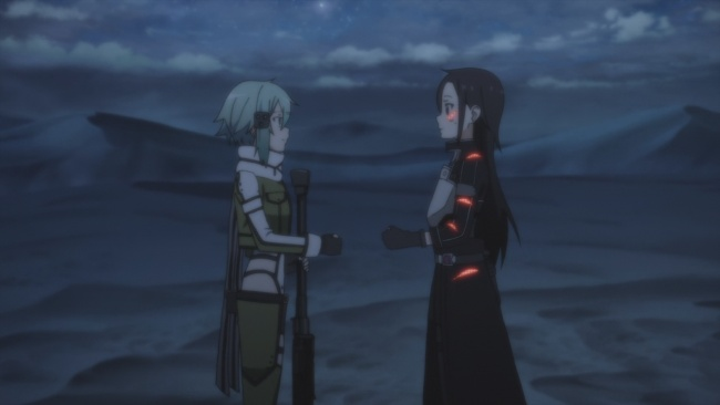 SAO 2-World's least cool fistbump