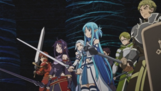 SAO 2-Getting ready to fight