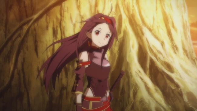 SAO 2-Yuuki's happy