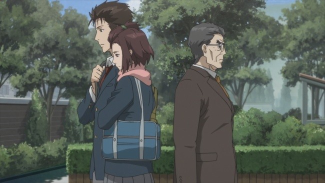 Parasyte-the pull of two worlds