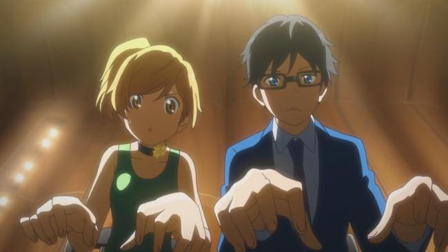 Shigatsu wa Kimi no Uso-Joining forces