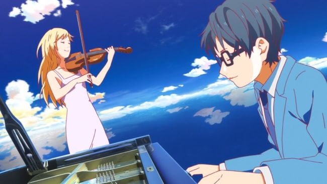 Shigatsu wa Kimi no Uso - The way to remember her