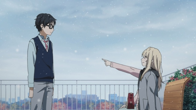 Shigatsu wa Kimi no Uso-feelings getting across