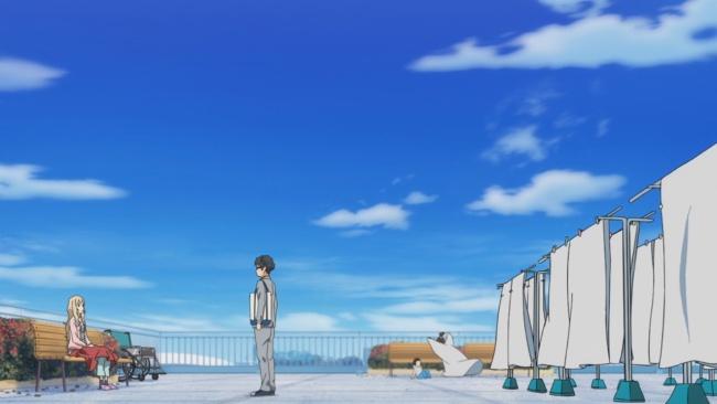 Shigatsu wa Kimi no Uso-pulling her back in