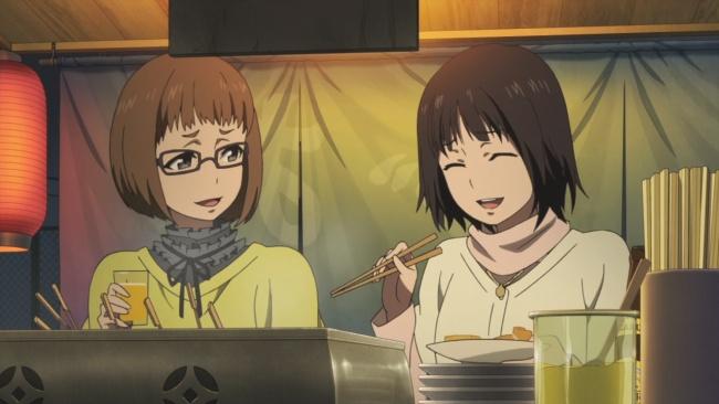 Shirobako-Doumoto and Shinkawa