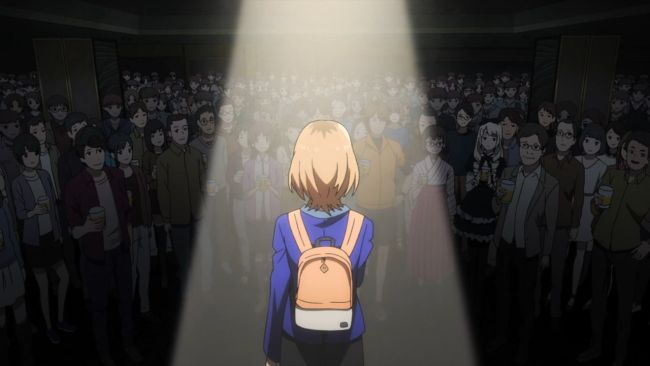 Shirobako - looking out at everyone
