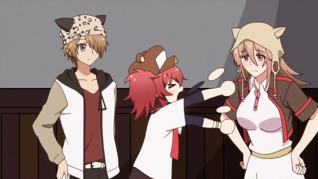 Mikagura - get those things away from him