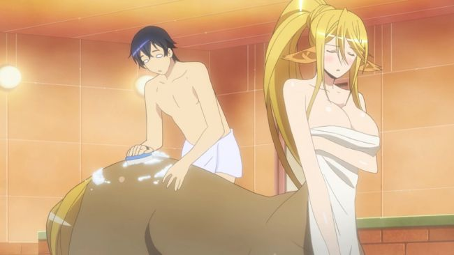 MonMusu - wash her back
