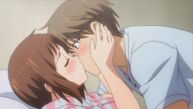 Okusama - Ui pulls him down