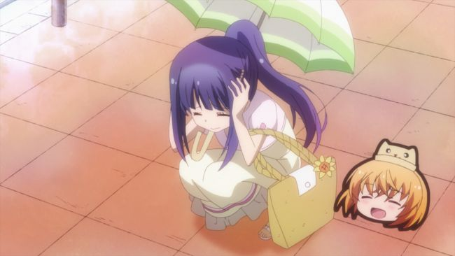 Anne Happy - Hanako is 'helping'