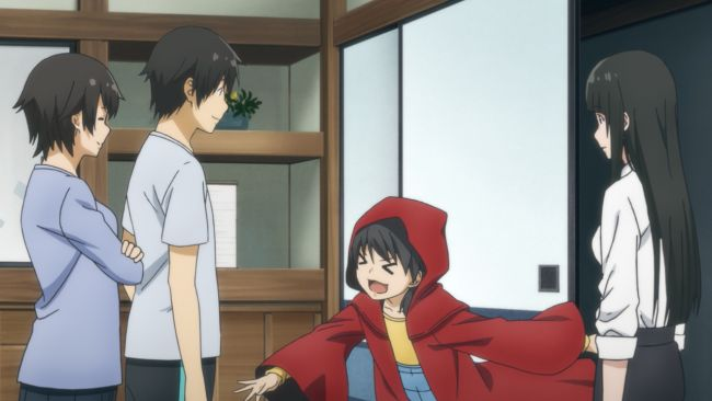 Flying Witch - red robe