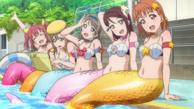 Love Live Sunshine - Chika just won't let it go