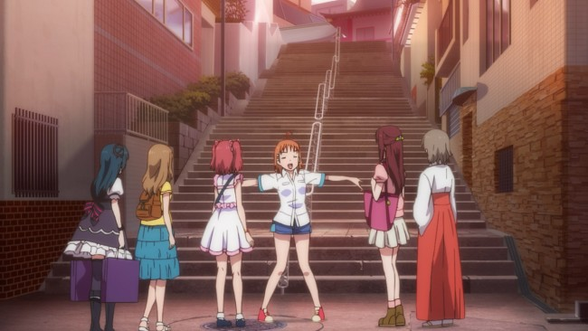 Love Live Sunshine - Famous Steps