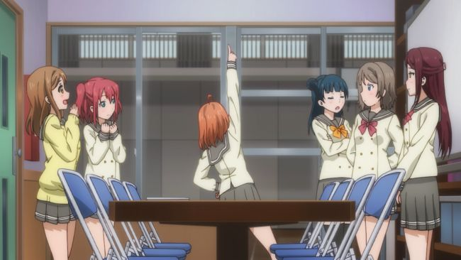 Love Live Sunshine - all in their own little world