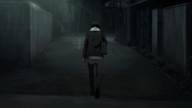 Orange - Kakeru walks off