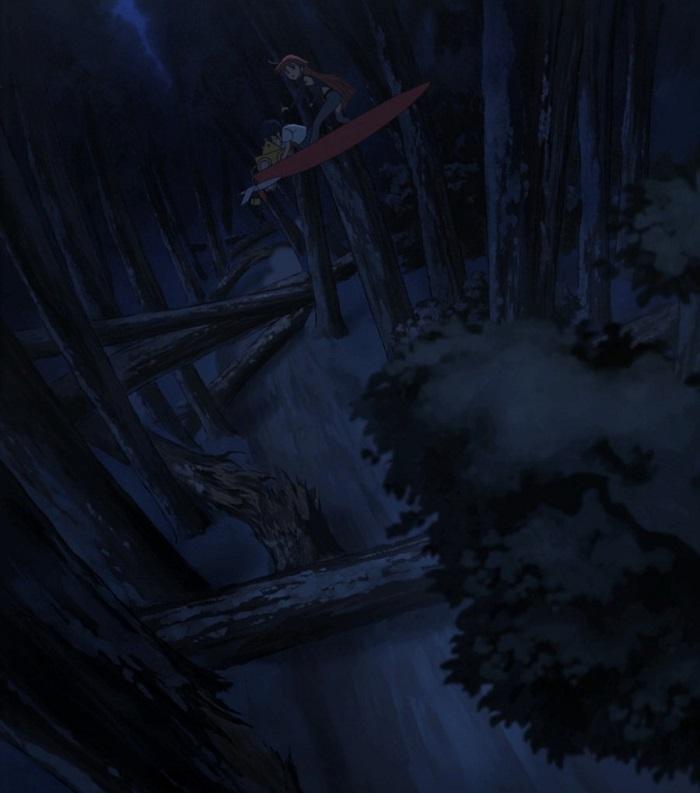 flipflappers 01-snowworld