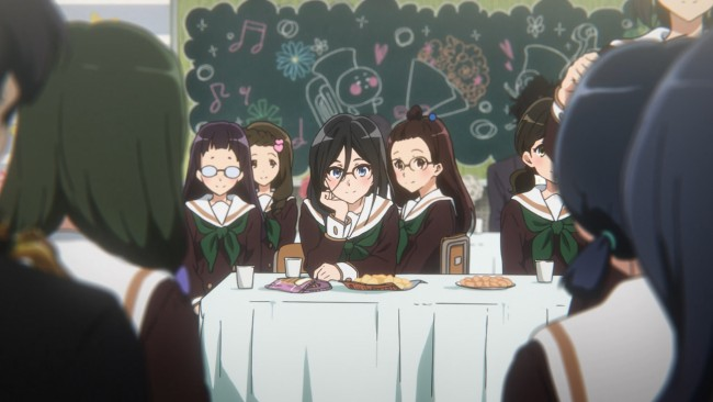 Euphonium S2 - eyes only for Kumiko