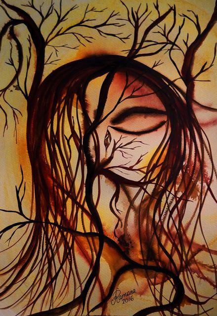 ECHO (watercolour)