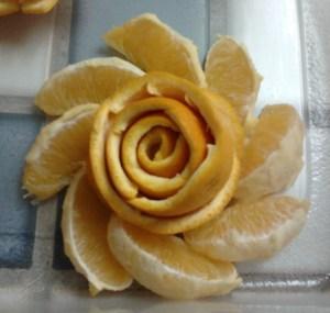 Orange Rose by Jessica Stroia