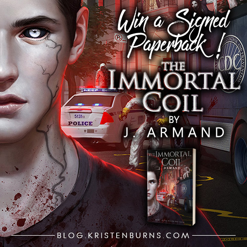 Win a Signed Paperback of The Immortal Coil by J. Armand!